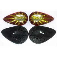 40-8014 / 40-8015 - Tank Badges and rubber kit