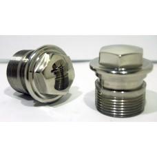 Suzuki - 1740031830 Fork top nuts GT750